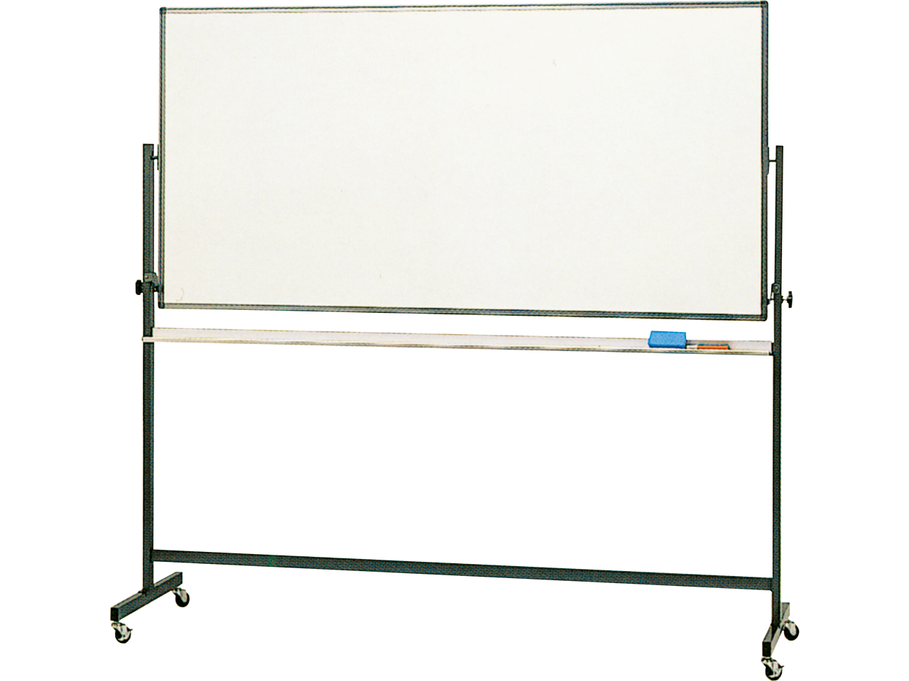 黒板・ホワイトボード 移動式ボード(両面回転脚付)