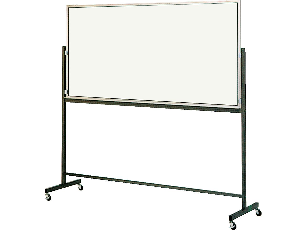 黒板・ホワイトボード 移動式ボード(片面固定脚付)