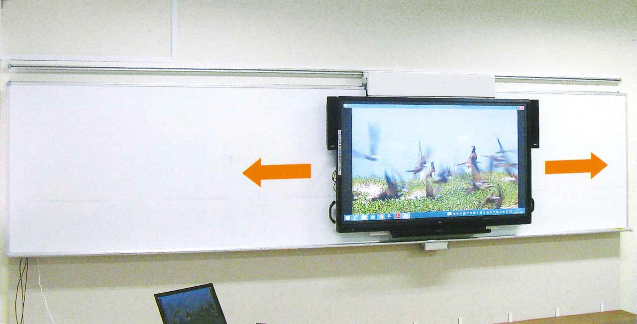 TV type テレビスライドシステム