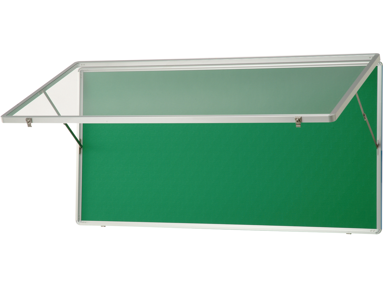 アルミ製ハネ上げ式ポスターケース(屋内用)