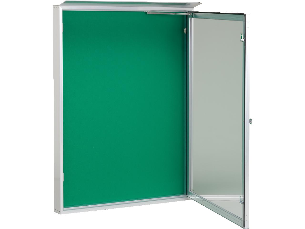アルミ製屋外掲示板(D82タイプ)壁付型